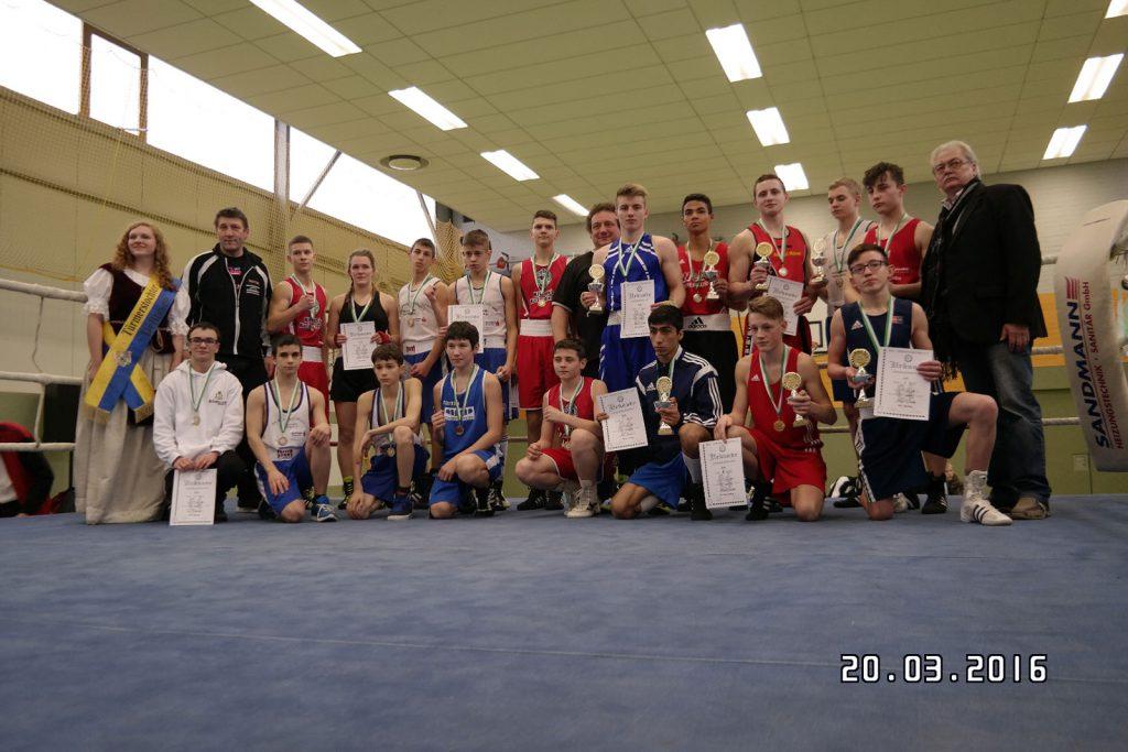 Landesmeister Junioren und Jugend 2016 Delitsch