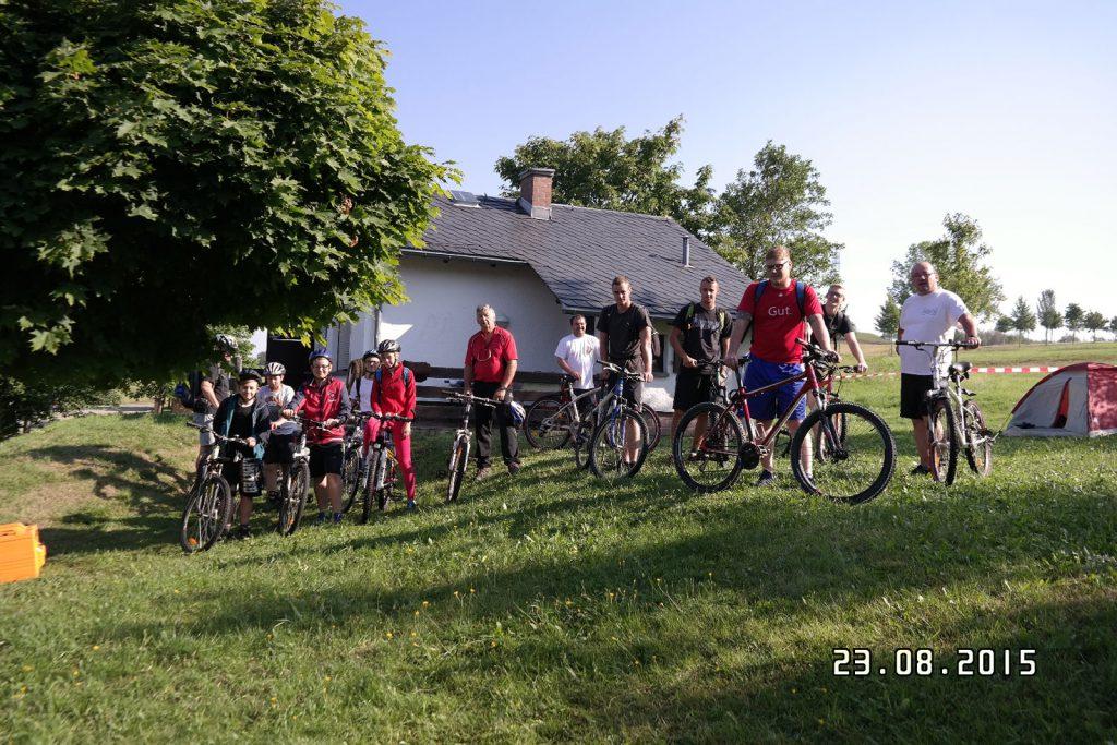 Trainingslager 2015 Auf zum Rabenberg