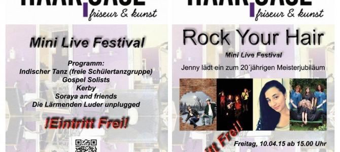 "Haar-Oase ""Mini Live Festival"""
