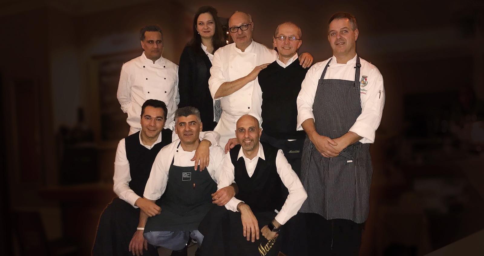 Mazzoni Cucina Italiana Team 2017